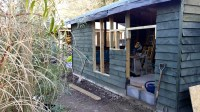 HOW TO CONVERT A SHED INTO A HOME OFFICE
