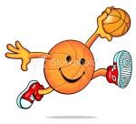 Basketball Ball Smiley Faces