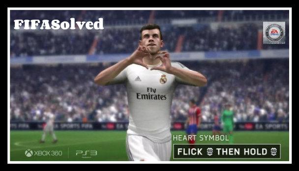 Gareth Bale Heart Celebration FIFA 14