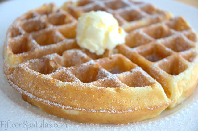 how to make waffles without a waffle maker youtube