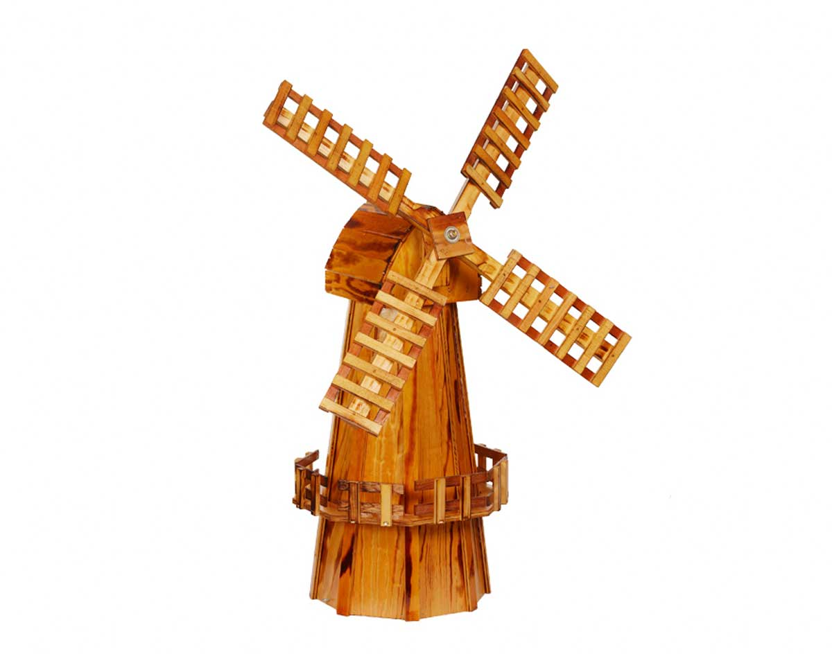 Wooden Pictures Wooden Windmill