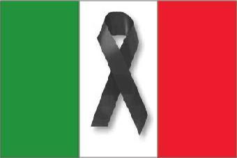 bandiera lutto