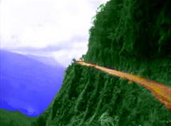 Narrow Cliff