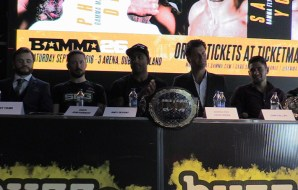 "BAMMA 26 Press Conference: ""This will be the biggest show yet,"" Coach Kavanagh"