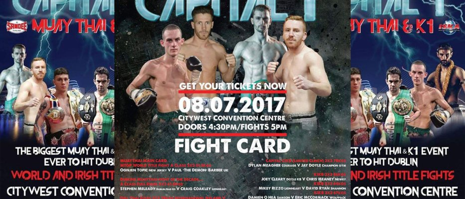 Fightstore Media's five fights not to be missed at Capital 1