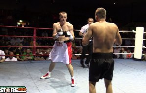 """Watch: Craig """"The Iron"""" O'Brien v Christian Hoskin Gomez - Red Corner Promotions: For Honour and Pride"""