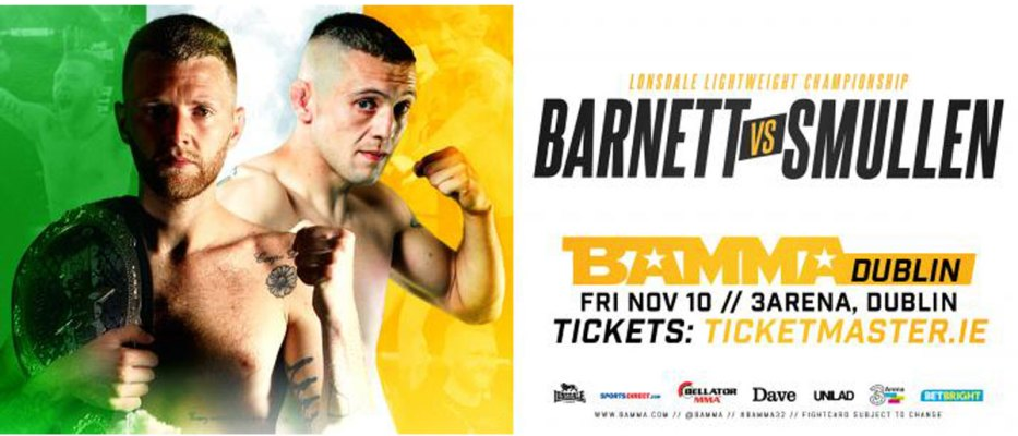 Tim Barnett Vs Richie Smullen Lonsdale Title Fight In Dublin