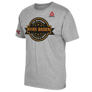 Ryan Bader Badge Reebok UFC Shirt