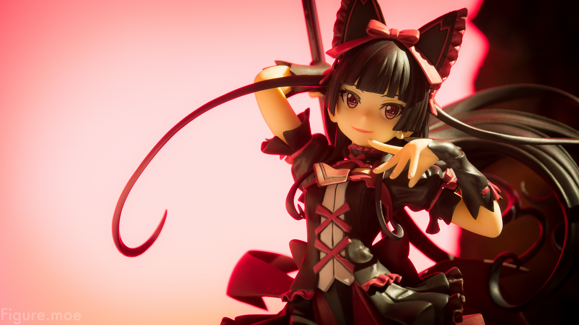 3d Fire Wallpaper Background Demi Goddess Rory Mercury Figure Moe