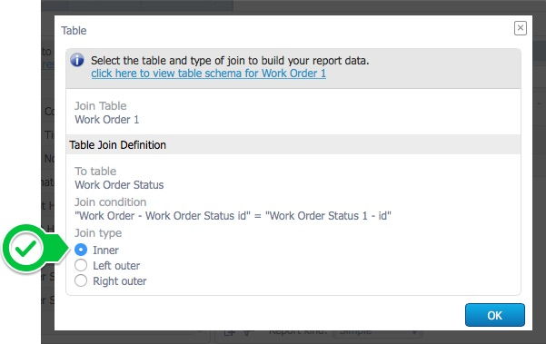 Create a Simple Open Work Order Report \u2013 Help Centre