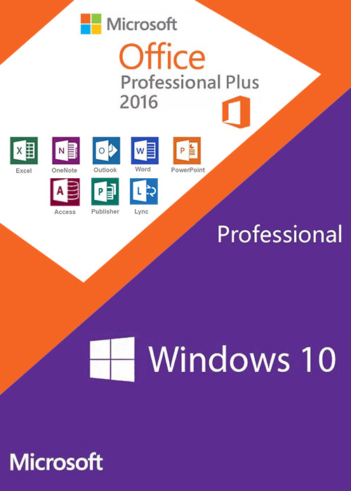 Buy Windows10 PRO OEM + Office2016 Professional Plus CD Keys Pack in - office cd