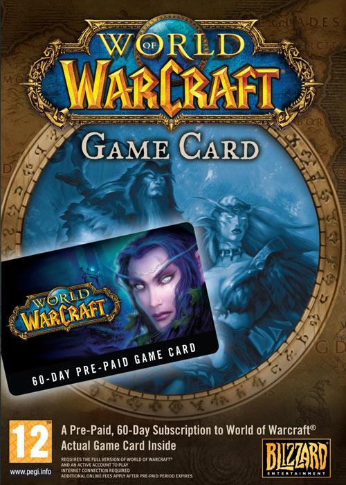 Buy World of Warcraft EU 60 Days Time Card in SCDKey
