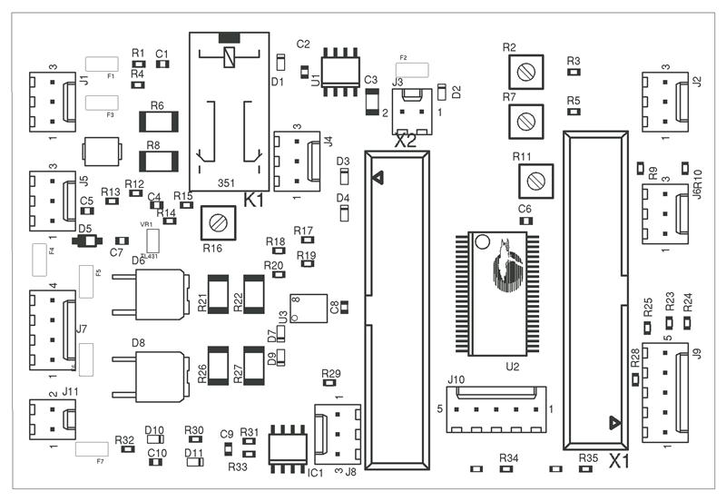 electronic circuit board manufacturing process