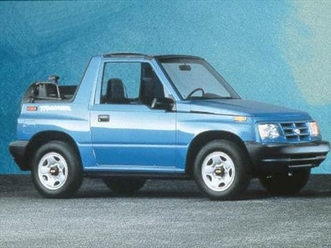 1998 Chevrolet Tracker Pricing, Ratings  Reviews Kelley Blue Book