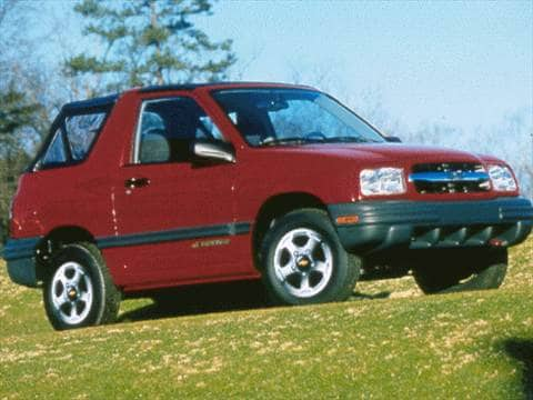 1999 Chevrolet Tracker Pricing, Ratings  Reviews Kelley Blue Book