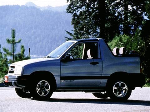 2000 Chevrolet Tracker Pricing, Ratings  Reviews Kelley Blue Book