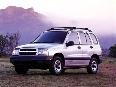 2001 Chevrolet Tracker Pricing, Ratings  Reviews Kelley Blue Book