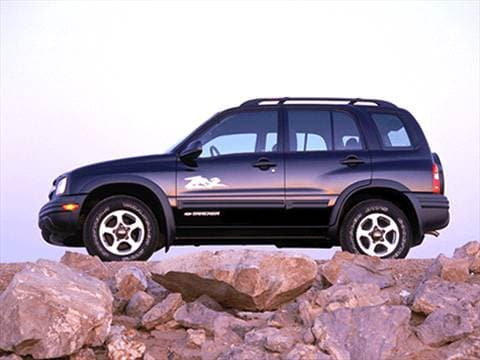 2002 Chevrolet Tracker Pricing, Ratings  Reviews Kelley Blue Book