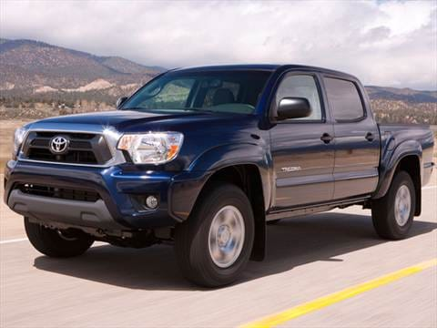 2012 Toyota Tacoma Double Cab Pricing, Ratings  Reviews