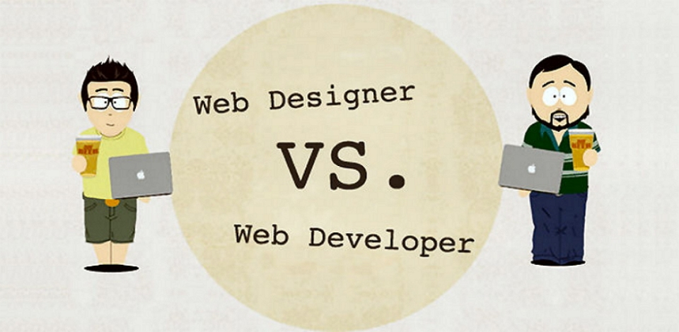3 Main Differences Between Web Designer and Web Developer - Developer