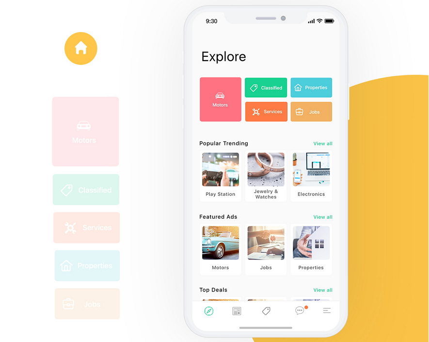 10 Latest Mobile App Interface Design Examples/Templates in 2018