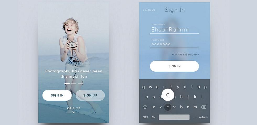 iOS Design Patterns - Top 12 Mobile App UI Design Inspirations