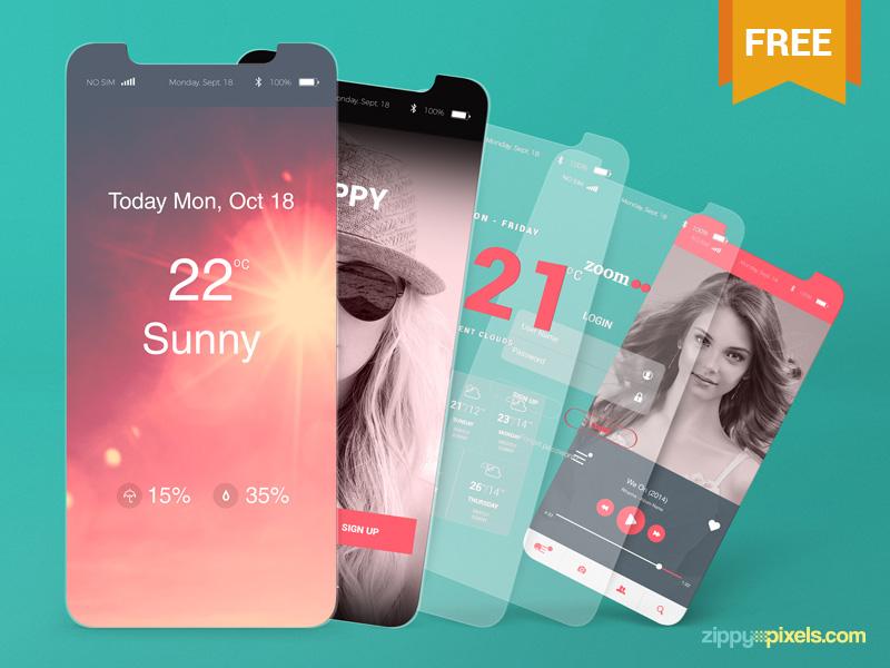 21 Best Mobile App Mockup Design Resources in 2018