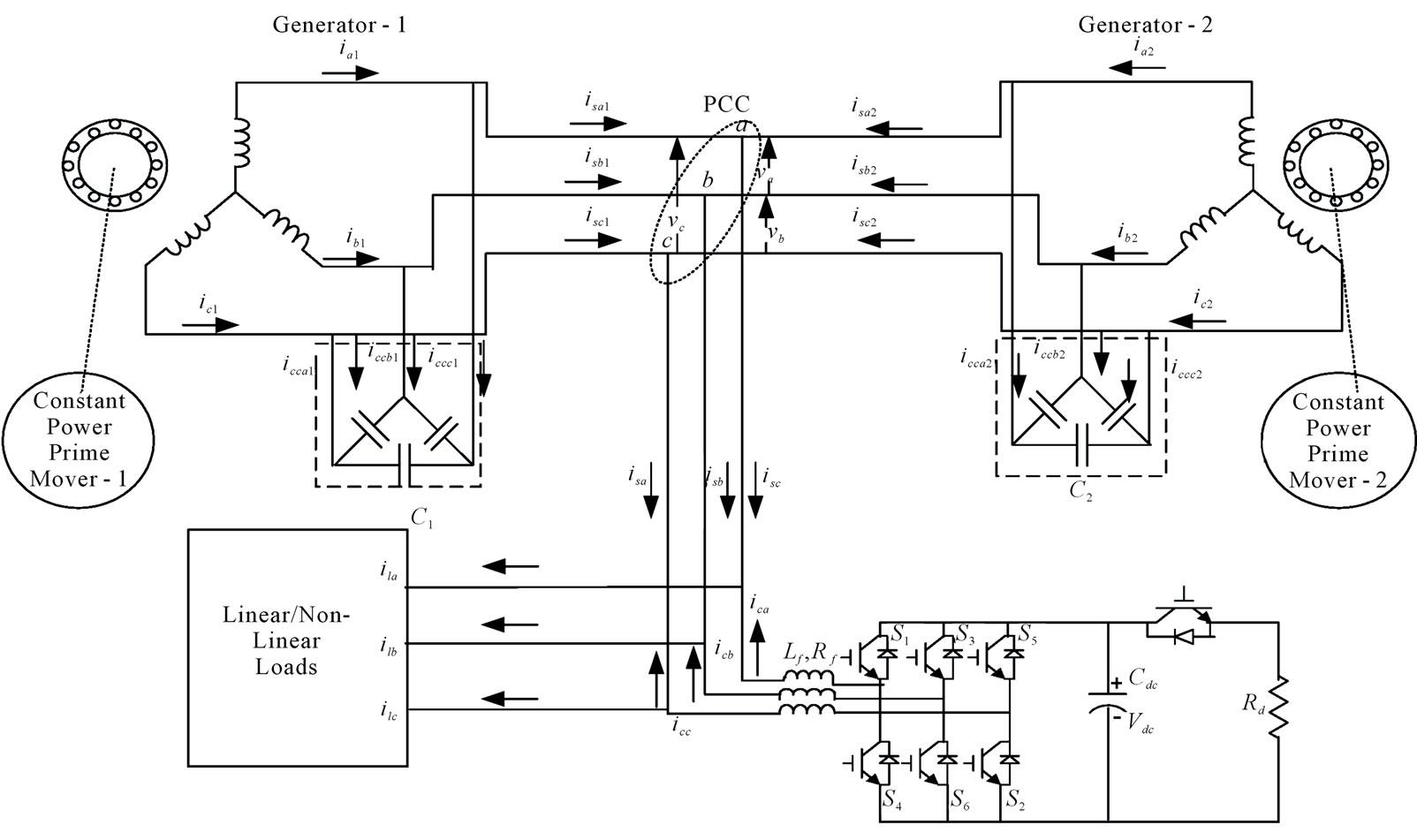 generator parallel wiring diagram