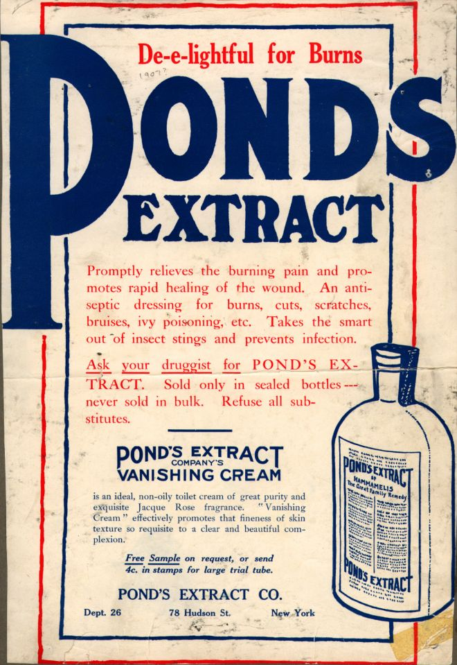 Vintage Beauty and Hygiene Ads of the 1900s