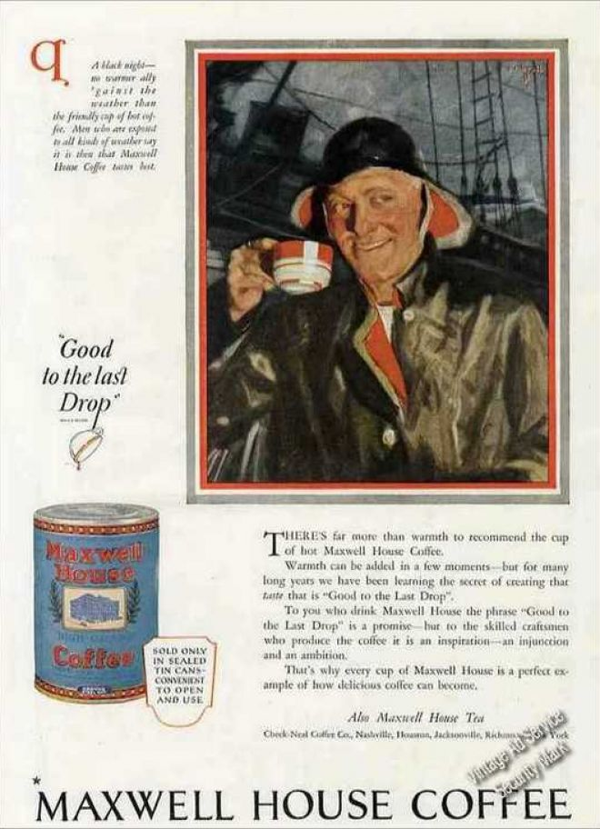 Vintage Drinks Advertisements of the 1920s (Page 2) - House Advertisements
