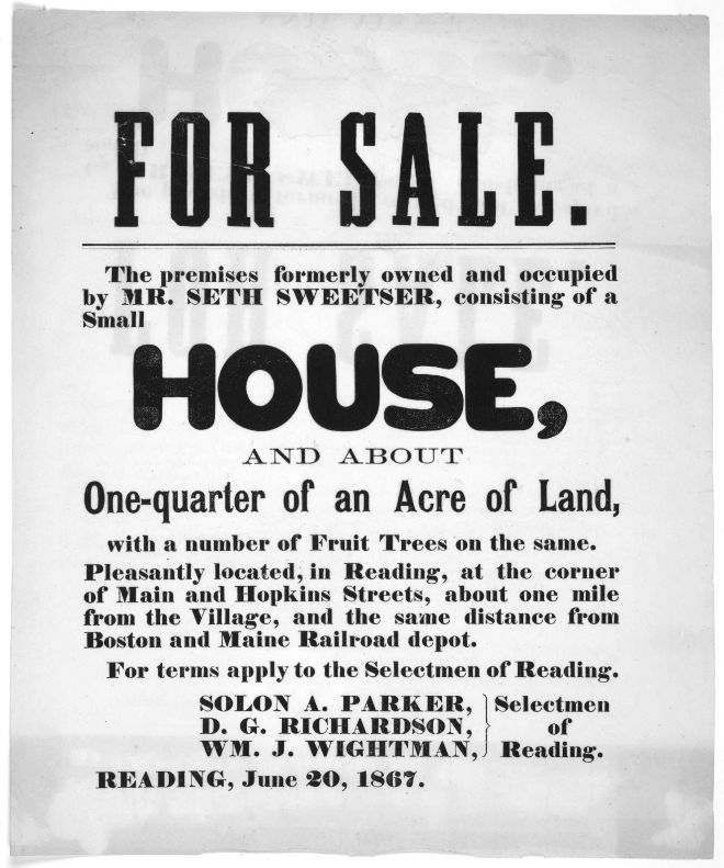 Vintage Industry Ads of the 1860s - House Advertisements