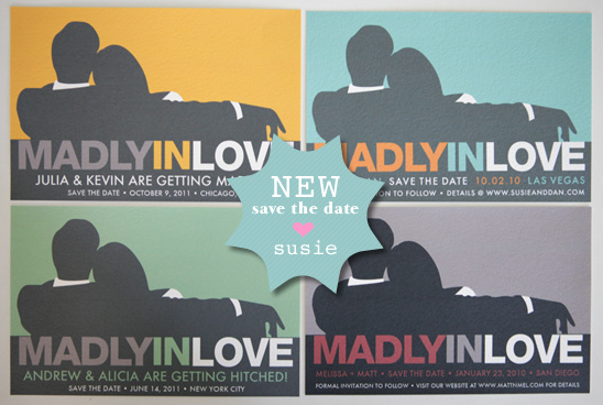 Mad Men Inspired Save The Date Invites Templates