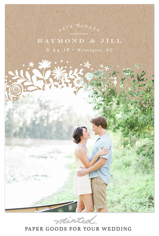Easy Photo Save The Date Cards From Minted