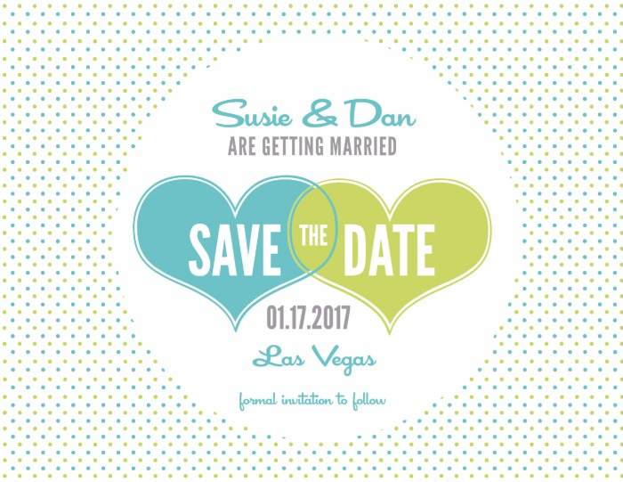 Save the Dates - Save The Date Wedding Templates