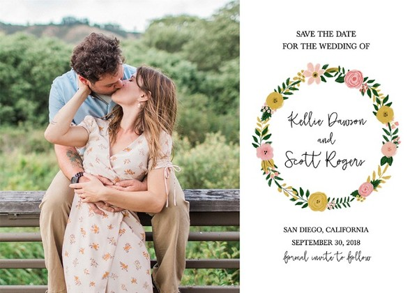 Save the Dates - free wedding save the dates