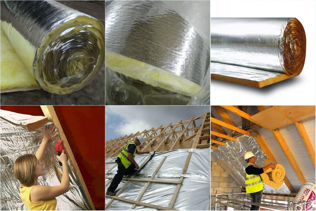 Foil Insulation Blanket Buy Glass Wool Insulation Blanket With Aluminum Foil Facing Price
