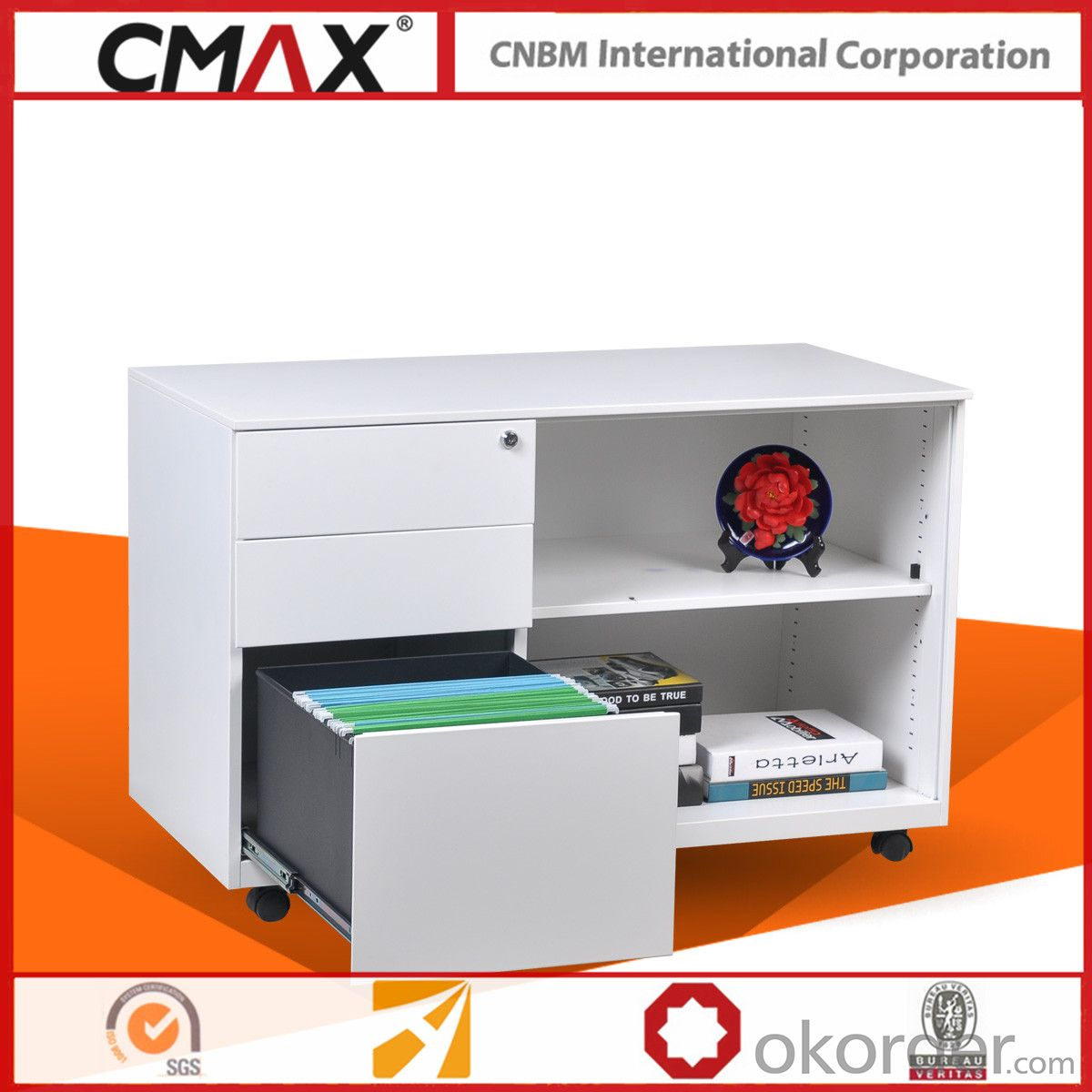 Bunnings Metal Racking Buy Office Steel Mobile Caddy Cabinet Cmax Osr Bbf Price