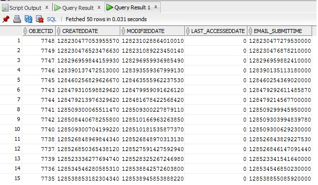 Oracle SQL Query Convert Number to Date using a query - sql convert