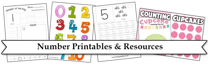 Printable Number Line - File Folder Fun
