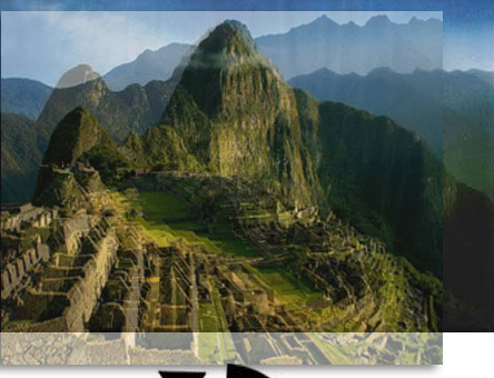 Illusion Wallpaper Iphone Huayna Picchu Face