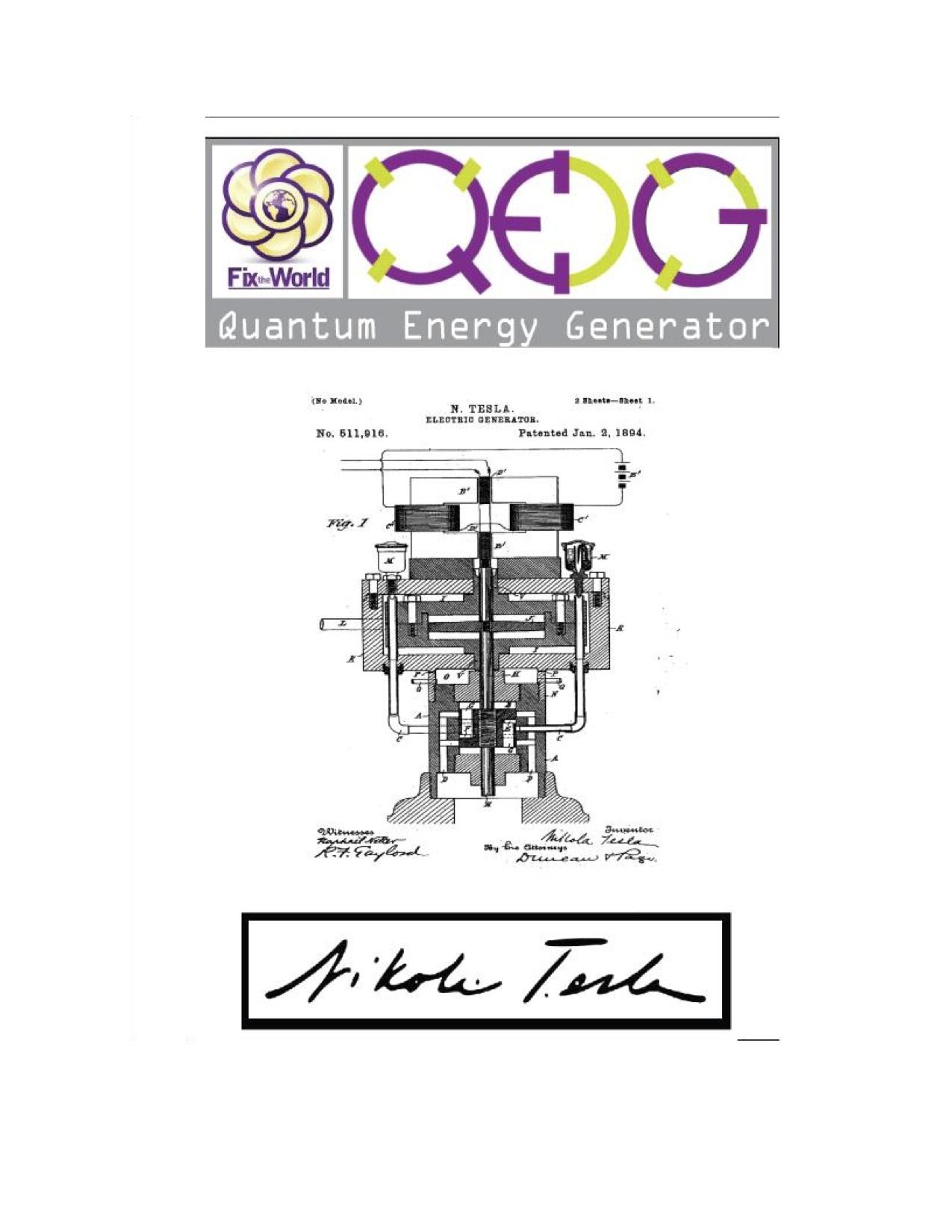 quantum generator diagram