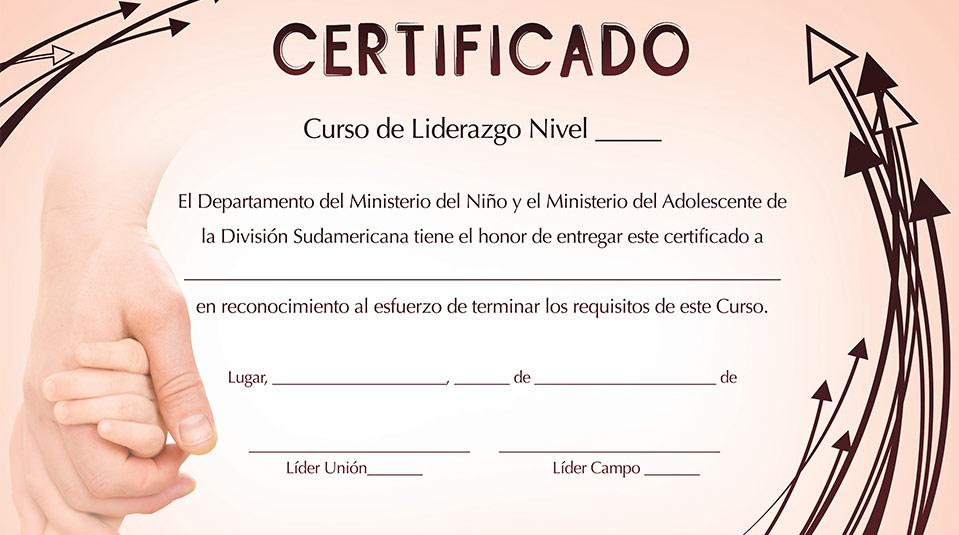 certificado - Materiales y Recursos AdventistasMateriales y Recursos