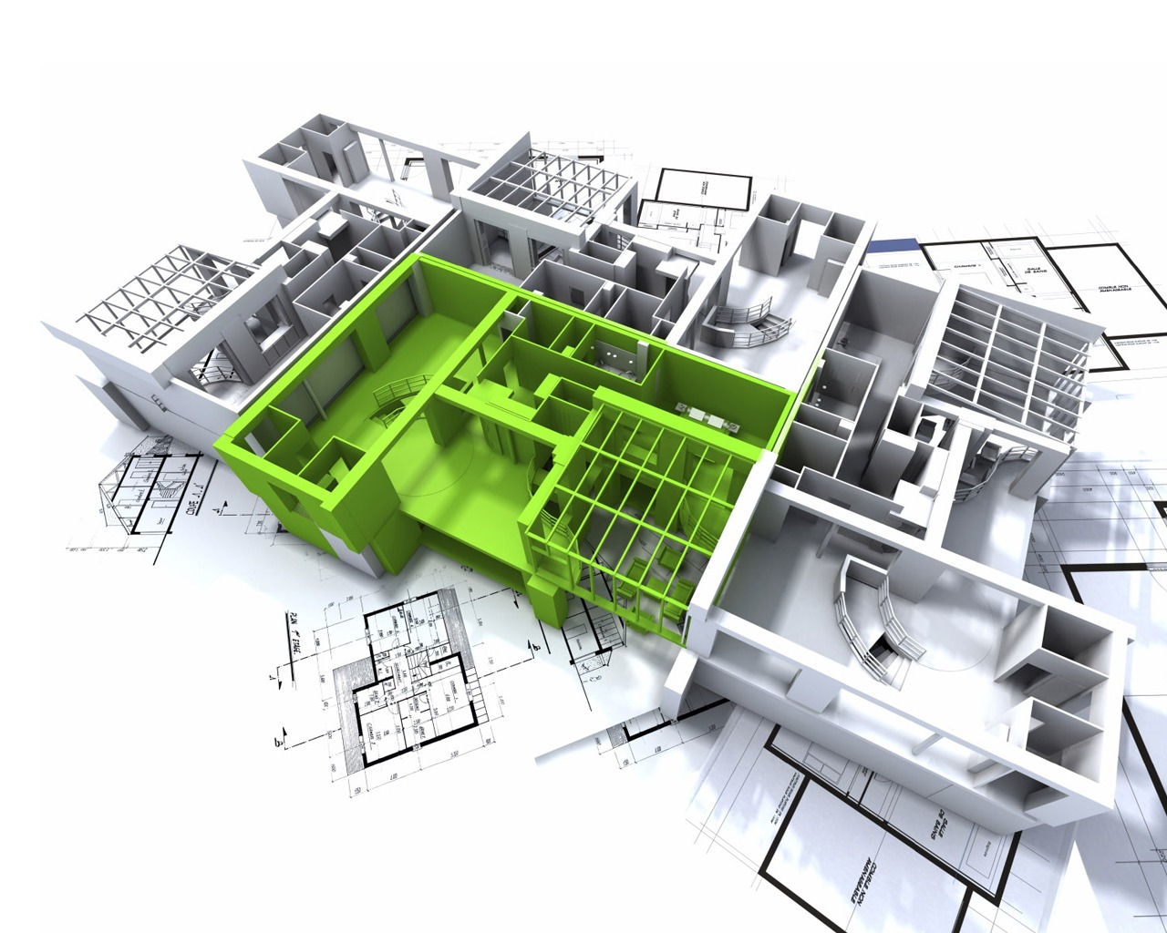 Plan Architecte 3d 3d Architecture Wallpaper Architecture Other Wallpapers In Jpg