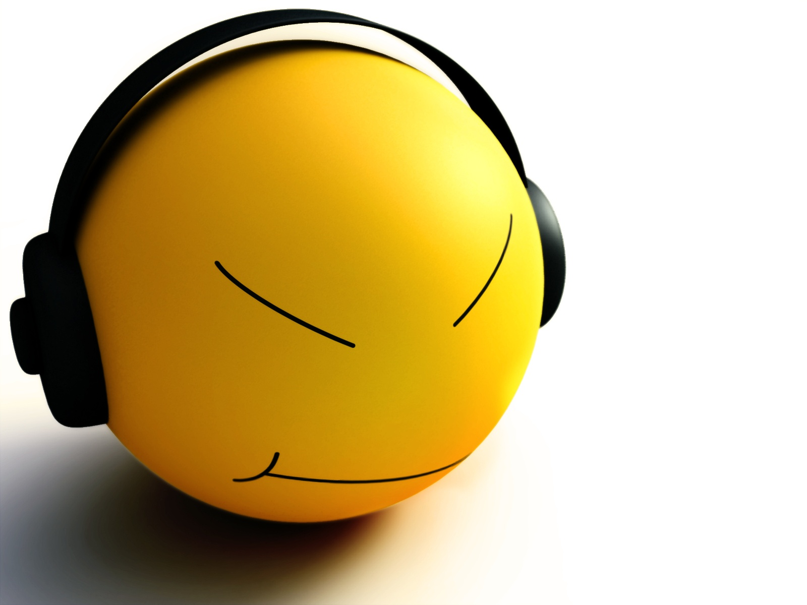Abstract Girl Face Wallpaper Smiley Listen Music Wallpapers In Jpg Format For Free Download