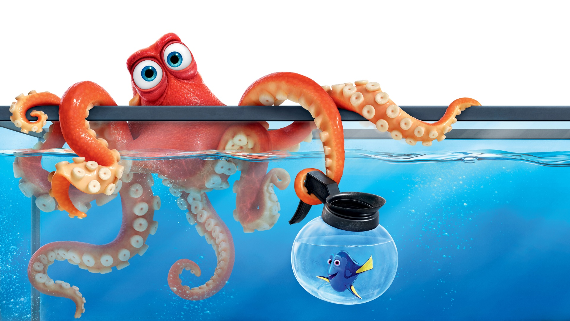 3d Animation Wallpaper Download Finding Dory Hank Octopus Wallpapers In Jpg Format For