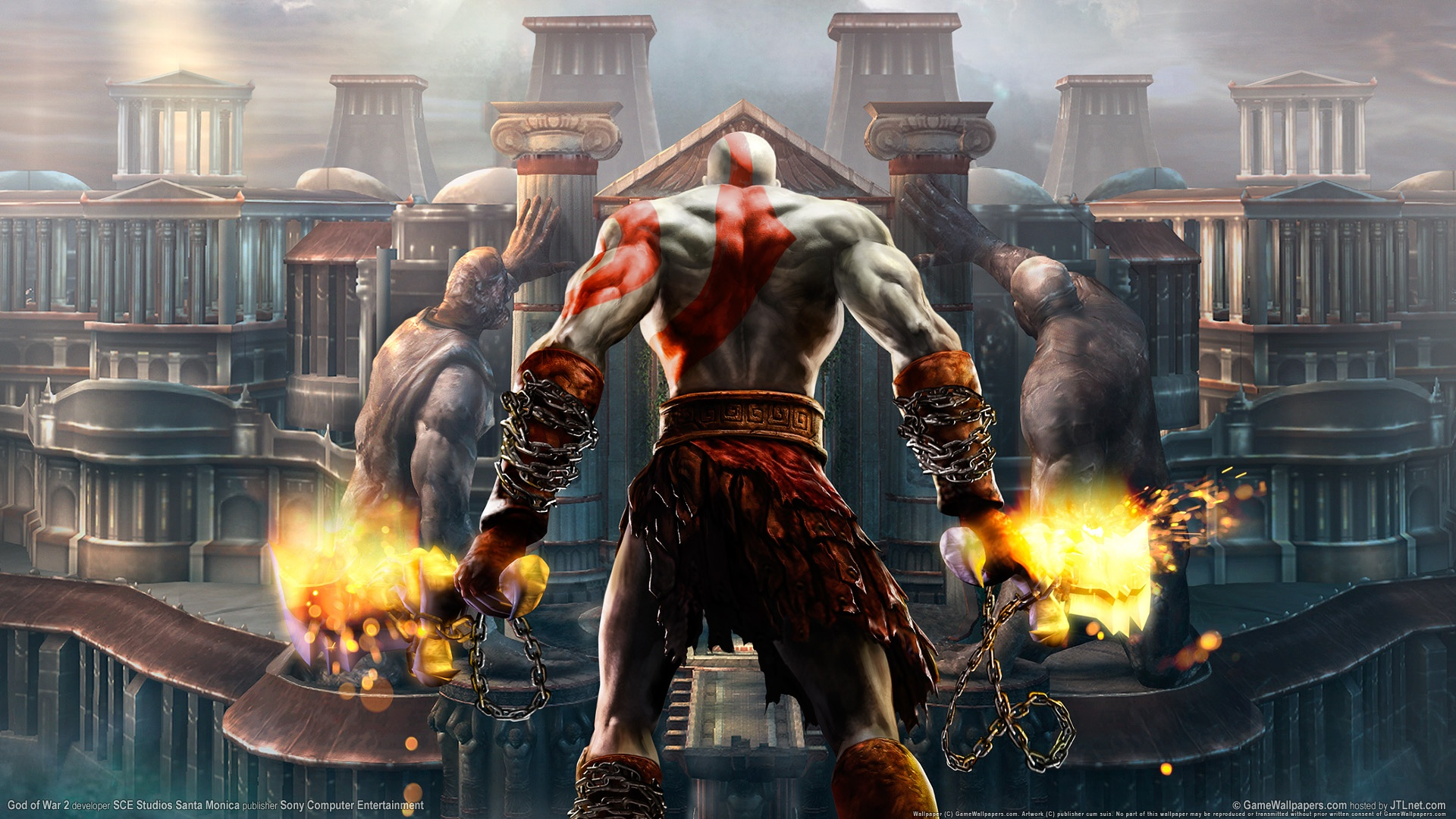 God Of War D God Of War 2 Hd Wallpapers In Jpg Format For Free Download