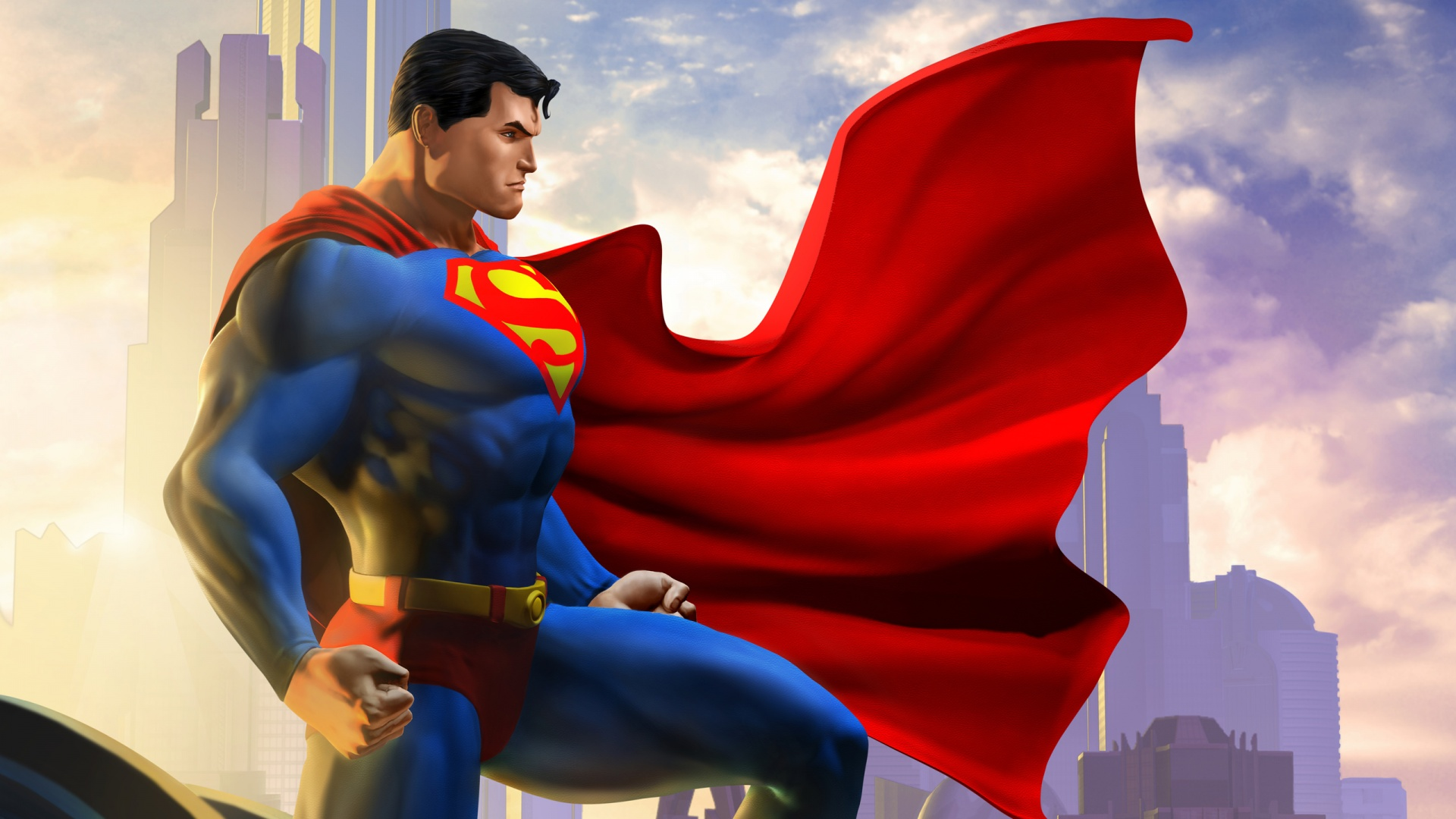 Superman Animated Wallpaper Superman Dc Universe Online Wallpapers In Jpg Format For