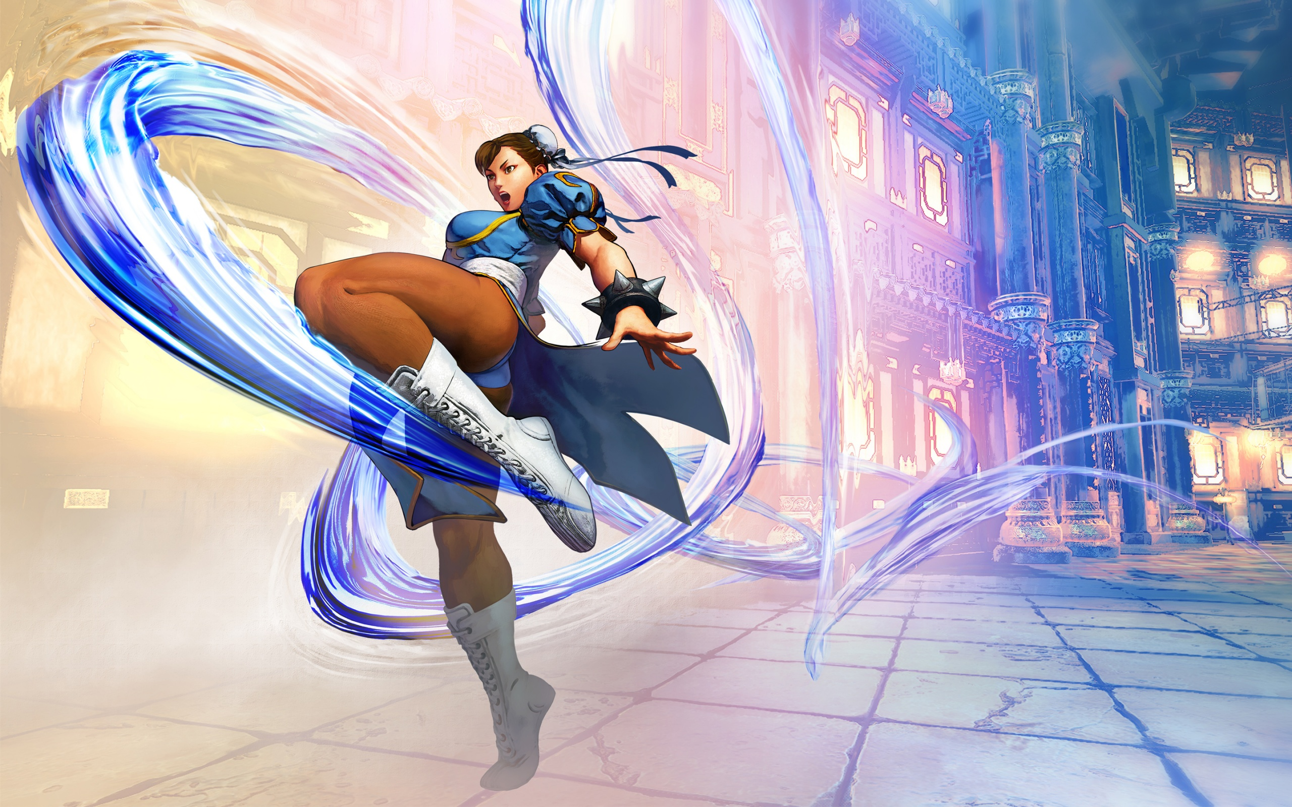 Animated Nature Wallpapers Free Download Chun Li Street Fighter V Wallpapers In Jpg Format For Free