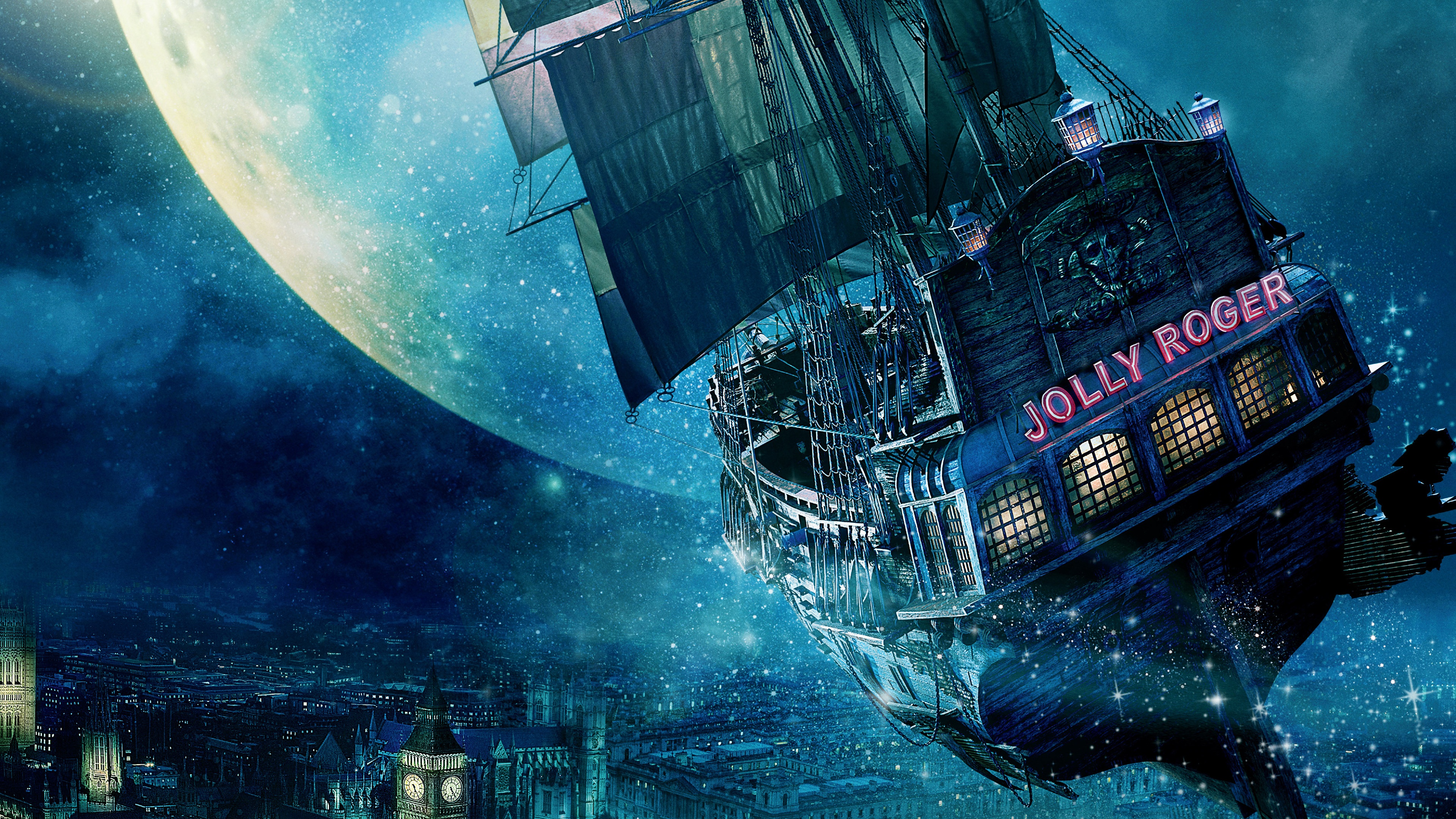 Titanic Ship 3d Wallpaper Free Download Jolly Roger Ship Peter Pan Wallpapers In Jpg Format For