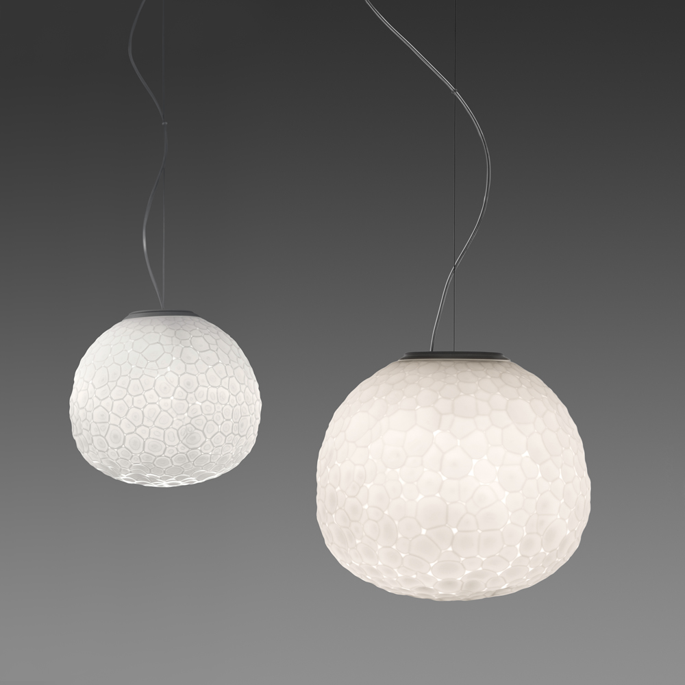 Artemide Suspension Meteorite Suspension Inspiration Materials And Technologies
